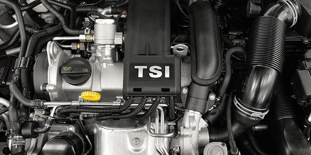 The Vento - Features - TSI 1.2L 105PS Turbocharged Engine